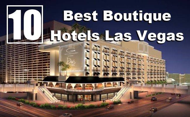 Best Las Vegas Boutique Hotels